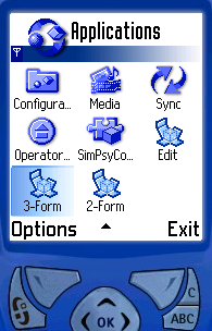 Figure 10 - More apps<br>in the smartphone menu