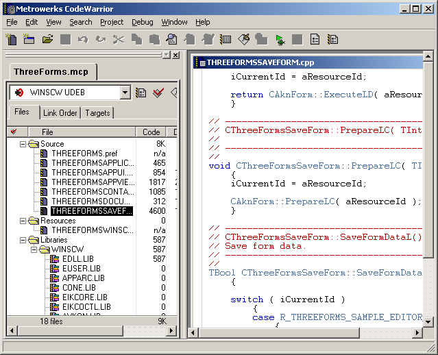 Figure 16 - Editing the generated application