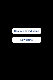 Figure 13 - Resume<br>saved game<p>